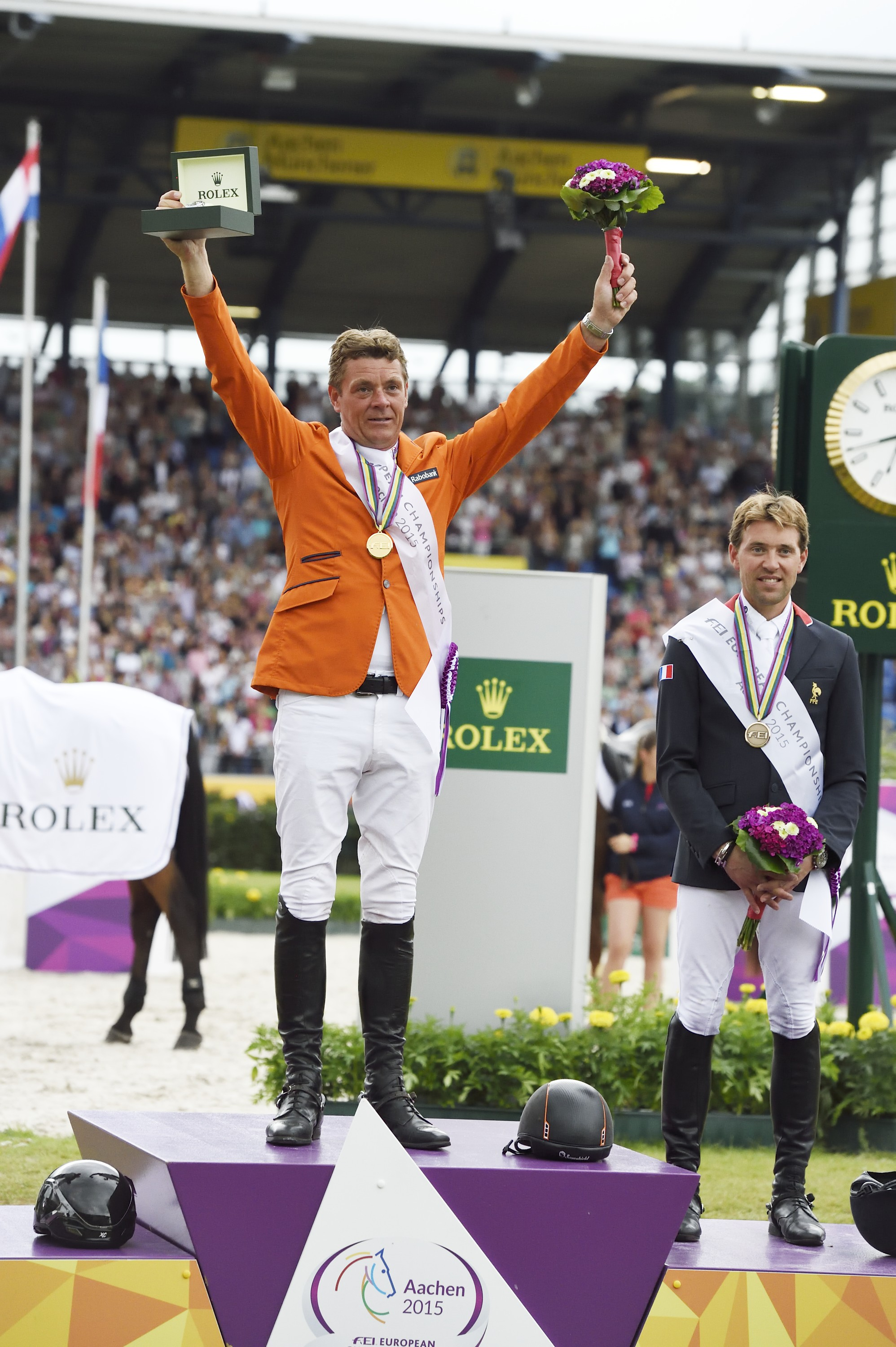 Horse Times Egypt: Equestrian Magazine :News :JEROEN DUBBELDAM WINS GOLD AT THE FEI EUROPEAN CHAMPIONSHIPS IN AACHEN. NOW HOLDS WORLD AND EUROPEAN TITLES CONCURRENTLY.