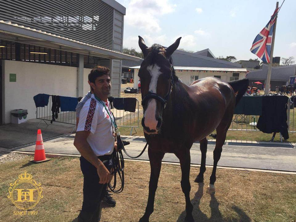Horse Times Egypt: Equestrian Magazine :News :DAY 2 - PAMPERING PRINCESS AMELIA
