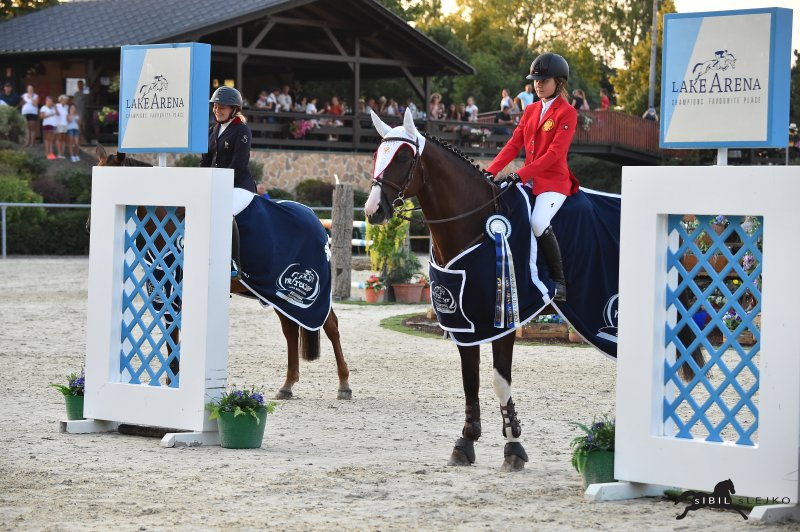 Horse Times Egypt: Equestrian Magazine :News :Russia and France were victorious at the opening of the Children-EM