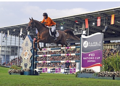 Horse Times Egypt: Equestrian Magazine :News :DUTCH WIN AT AACHEN AND SOAR UP THE FURUSIYYA RANKINGS