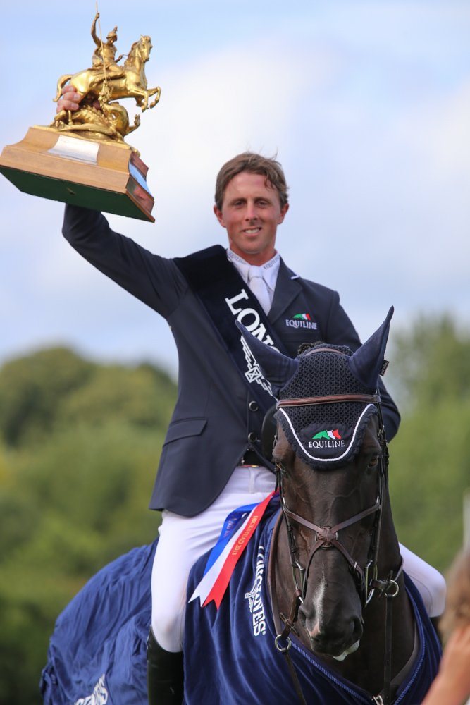 Horse Times Egypt: Equestrian Magazine :News :BEN MAHER WINS THE LONGINES KING GEORGE V GOLD CUP