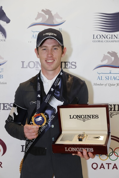 Horse Times Egypt: Equestrian Magazine :News :SCOTT BRASH WINS THE 2013 LONGINES GLOBAL CHAMPIONS TOUR TITLE AND GRAND PRIX OF DOHA