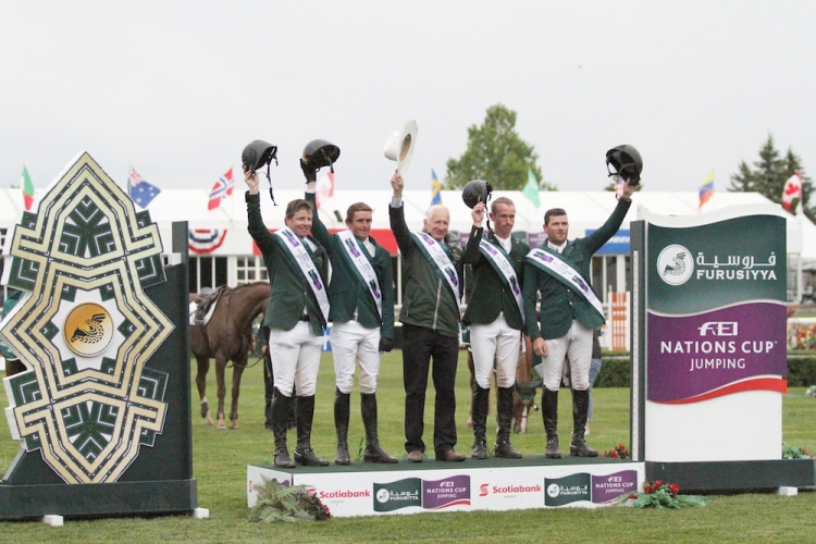 Horse Times Egypt: Equestrian Magazine :News :IRISH MAKE IT TWO-IN-A-ROW WITH FURUSIYYA VICTORY AT SPRUCE MEADOWS