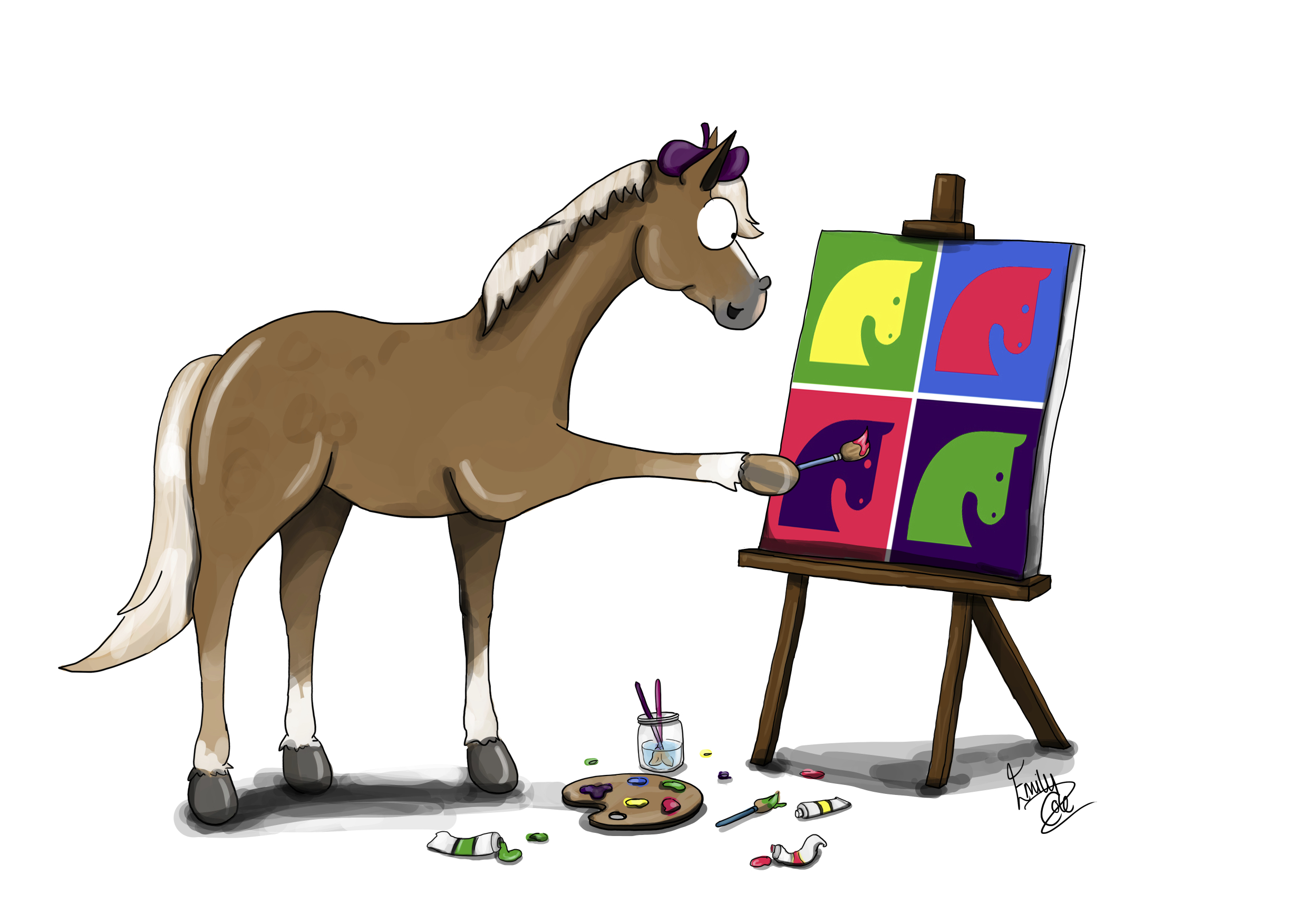 Horse Times Egypt: Equestrian Magazine :News :TWELVE DAYS OF CREATIVE CHRISTMAS