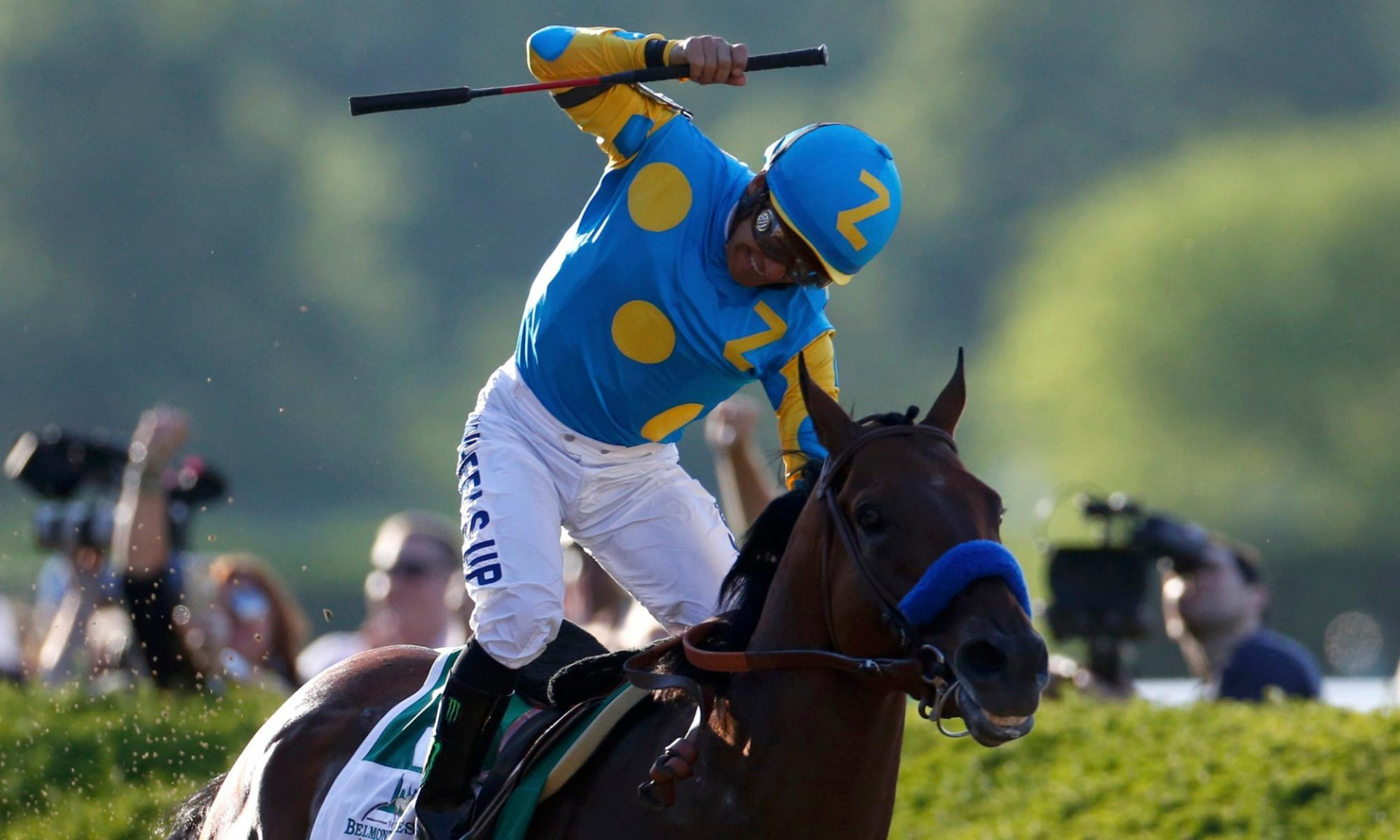 Horse Times Egypt: Equestrian Magazine :News :AMERICAN PHAROAH BECOMES FIRST TRIPLE CROWN WINNER IN 37 YEARS.