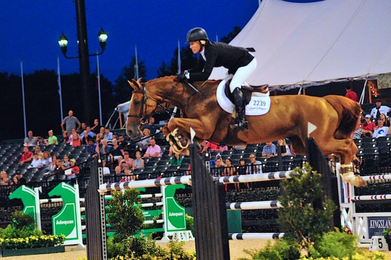 Horse Times Egypt: Equestrian Magazine :News :SCHUYLER RILEY AND DOBRA DE PORCEYO TRIUMPH IN ARIAT® GRAND PRIX AT TRYON SUMMER 2