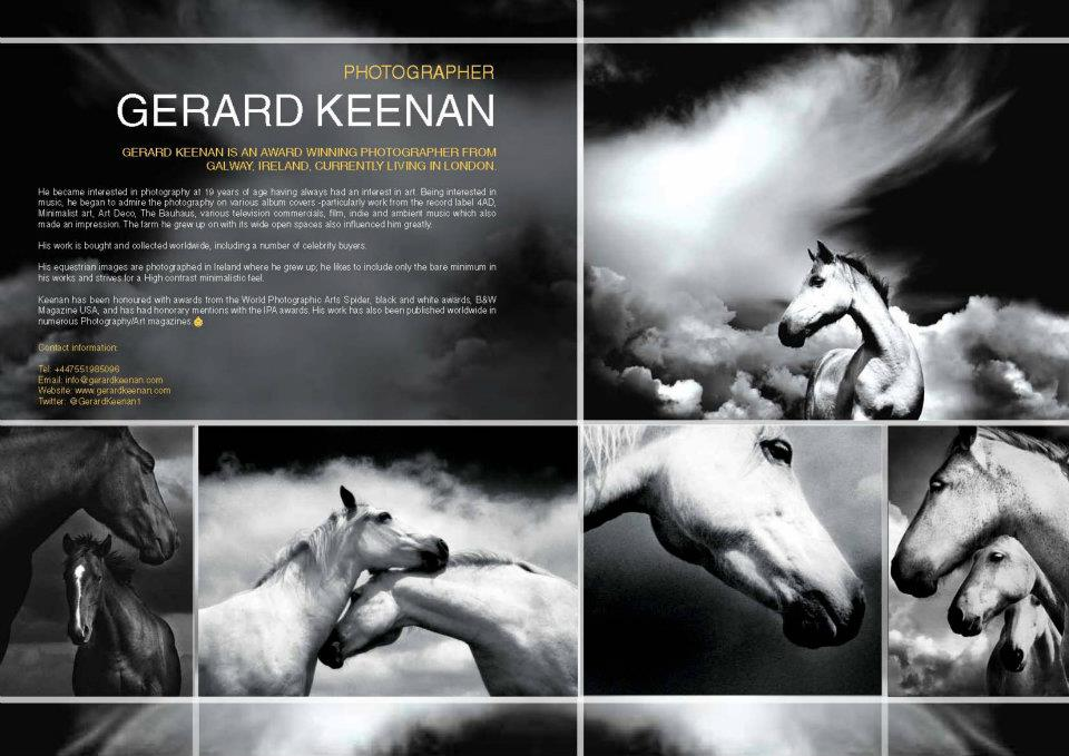 Horse Times Egypt: Equestrian Magazine :News :PHOTOGRAPHY & PLENTY OF FLAIR BY IRISH TALENT GERARD KEENAN IN HT SPRING ISSUE 38