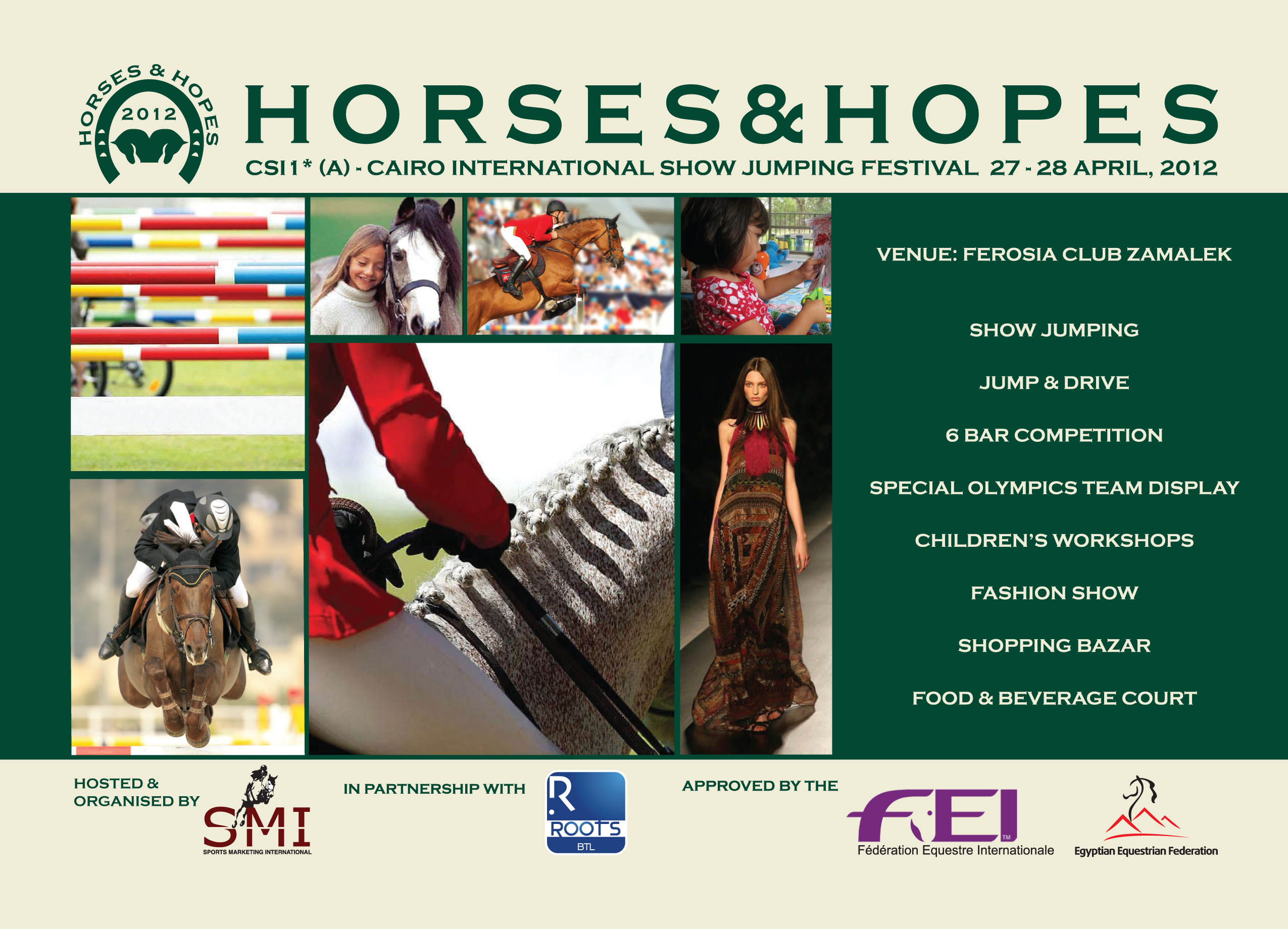 Horse Times Egypt: Equestrian Magazine :News :CSI 1* (A) - Cairo HORSES & HOPES International Show Jumping Festival