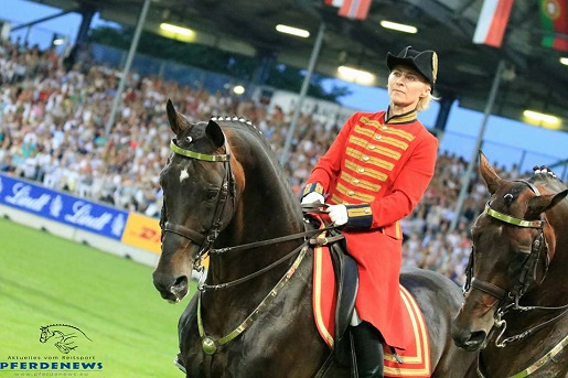Horse Times Egypt: Equestrian Magazine :News :Opened Equestrian Championships Aachen 2015 with a great show: Big Feelings
