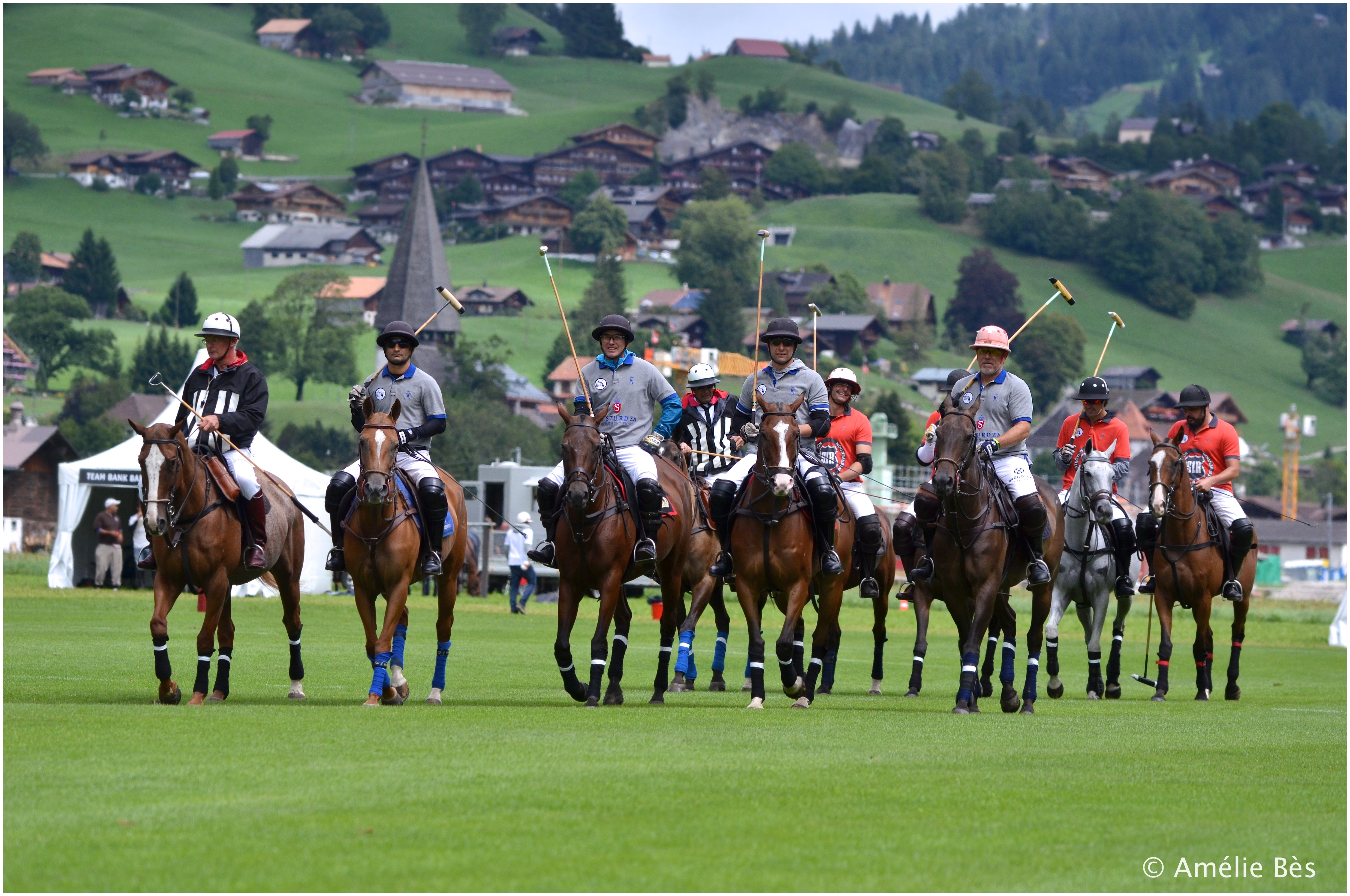 Horse Times Egypt: Equestrian Magazine :News :SAFETY FIRST!   IN A FINAL RESULT DICTATED BY MOTHER NATURE, THE 20th HUBLOT POLO GOLD CUP GSTAAD WAS JOINTLY WON BY TEAM E.I. STURDZA INVESTMENT FUNDS AND TEAM SI.