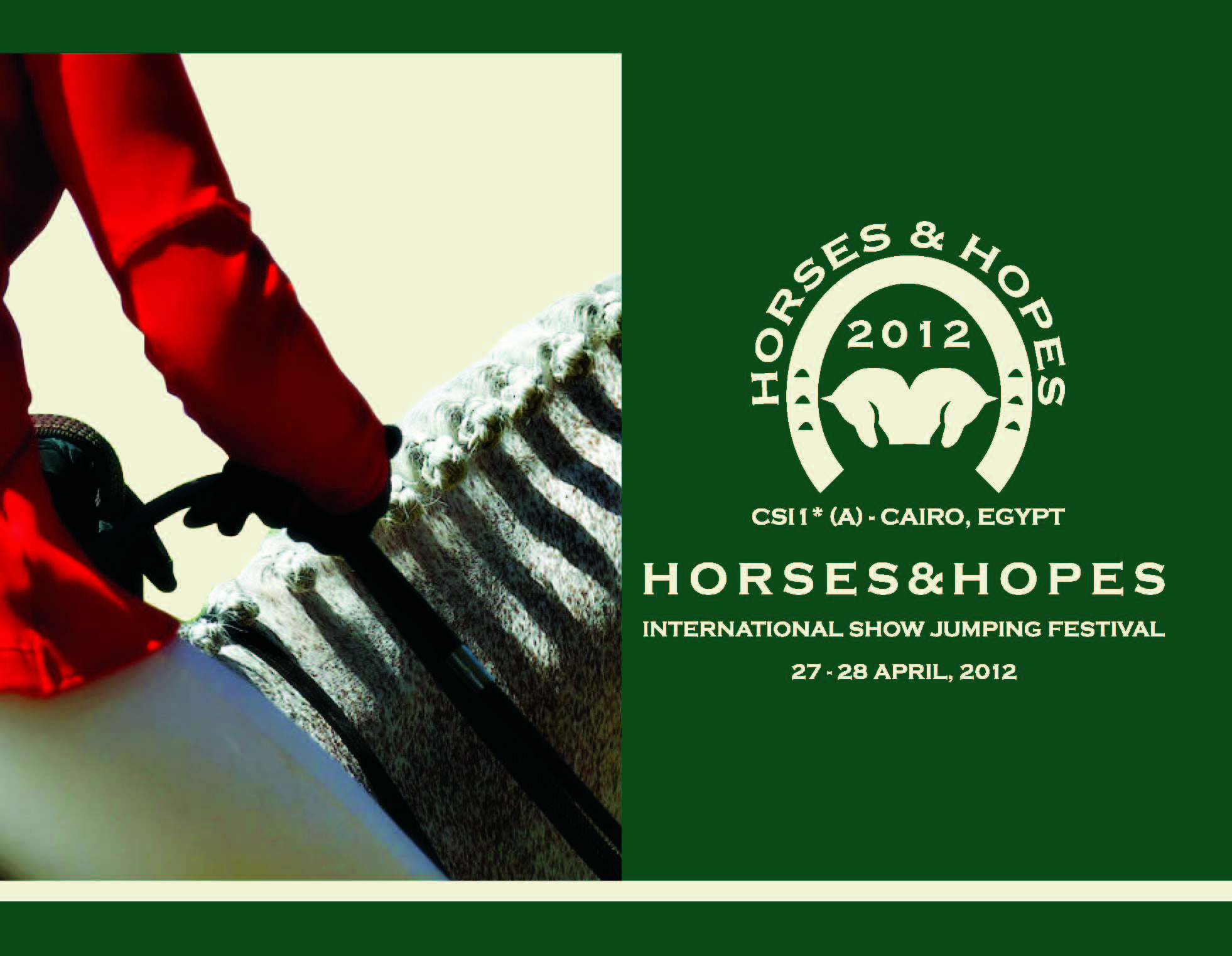 Horse Times Egypt: Equestrian Magazine :News :HORSES & HOPES; A GRAND FESTIVAL!