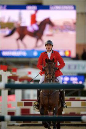 Horse Times Egypt: Equestrian Magazine :News :Brilliant Belgians Come Out On Top Of Round 1 Of Furusiyya FEI Nations Cup Final