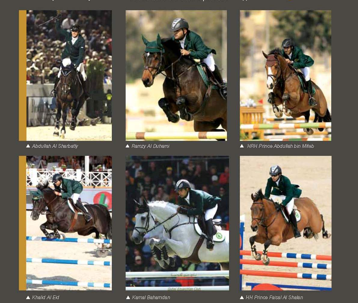 Horse Times Egypt: Equestrian Magazine :News :STATEMENT FROM SAUDI EQUESTRIAN