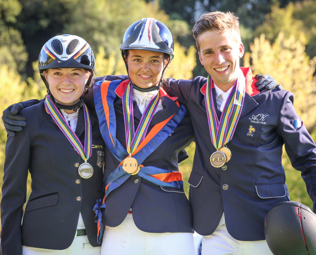 Horse Times Egypt: Equestrian Magazine :News :DOUBLE-GOLD FOR FRANCE AND GERMANY AT J/YR CHAMPIONSHIPS IN MONTELIBRETTI