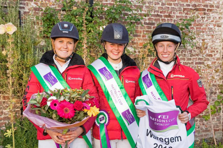 Horse Times Egypt: Equestrian Magazine :News :FEI NATIONS CUP™ EVENTING: GERMANY NARROWS THE GAP WITH WIN AT WAREGEM