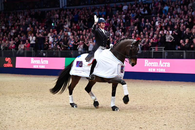 Horse Times Egypt: Equestrian Magazine :News :DRESSAGE STARS TAKE CENTRE STAGE ON OPENING NIGHT OF OLYMPIA