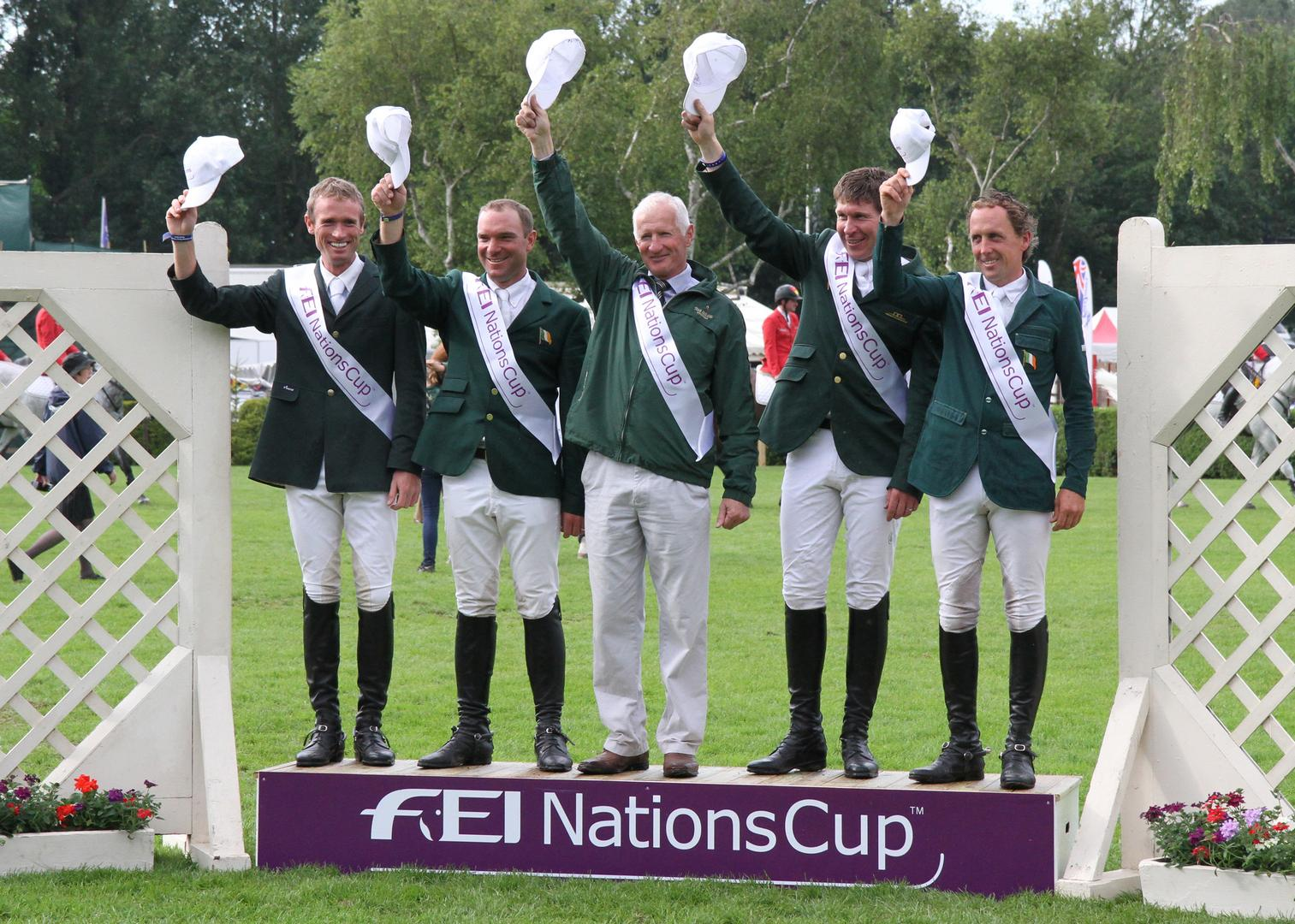 Horse Times Egypt: Equestrian Magazine :News :IRELAND WIN THE FEI NATIONS CUP OF GREAT BRITAIN