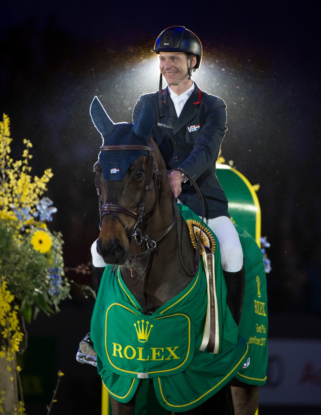 Horse Times Egypt: Equestrian Magazine :News :HOME FAVOURITE LEOPOLD VAN ASTEN WINS THE ROLEX GRAND PRIX AT INDOOR BRABANT