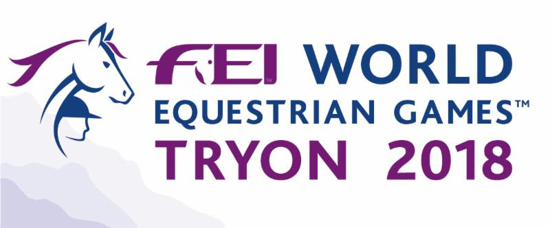 Horse Times Egypt: Equestrian Magazine :News :FEI WORLD EQUESTRIAN GAMES™ TRYON 2018 LOGO AND PROMO VIDEO UNVEILED
