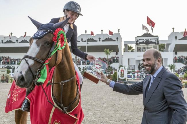 Horse Times Egypt: Equestrian Magazine :News :Grand Prix H.R.H the Prince Moulay EL HASSAN Nadja Peter Steiner, Loyalty rewarded