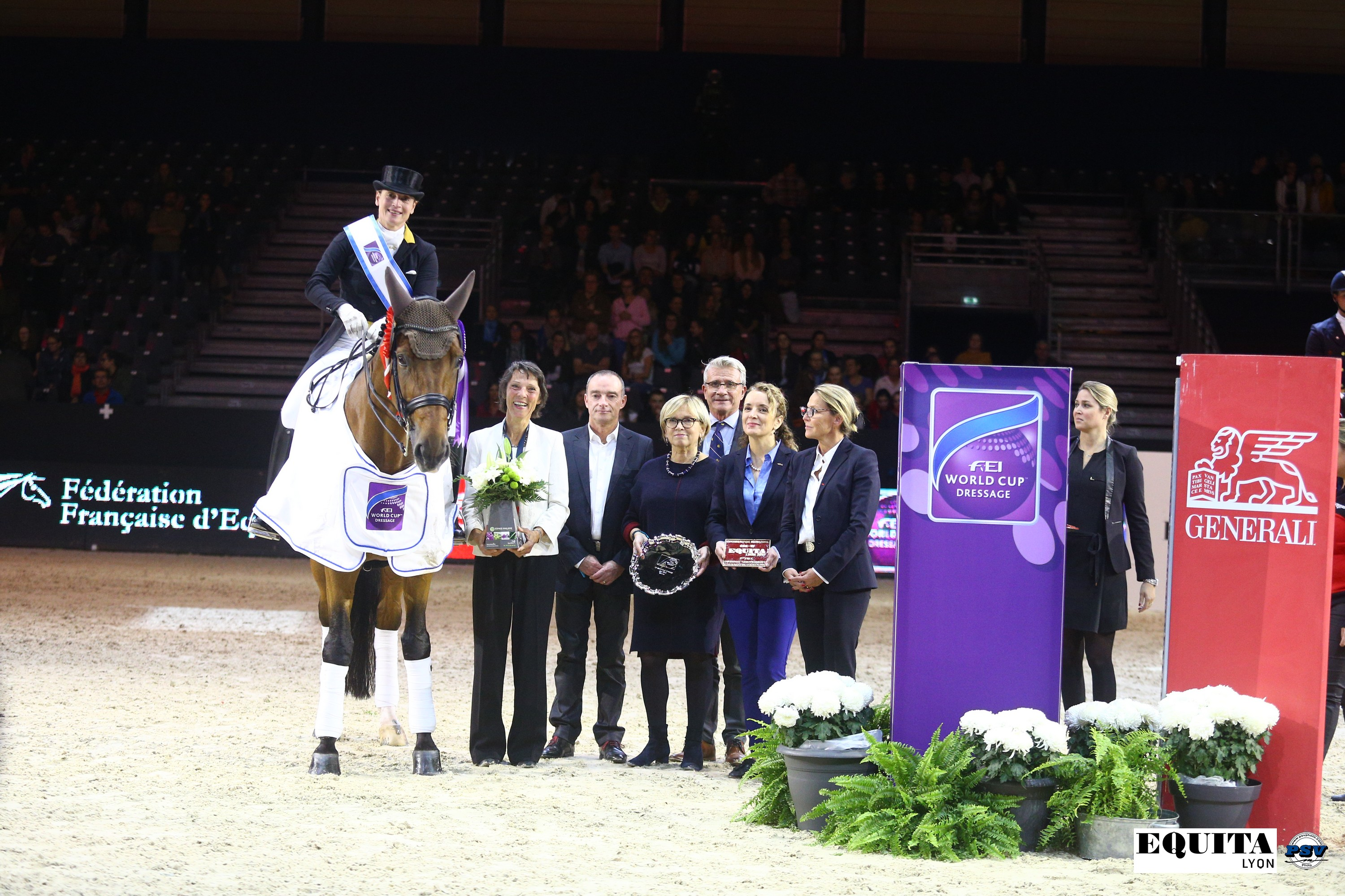 Horse Times Egypt: Equestrian Magazine :News : LYON FEI WORLD CUP DRESSAGE: A LEGEND OF EQUESTRIAN SPORT WINS IN LYON