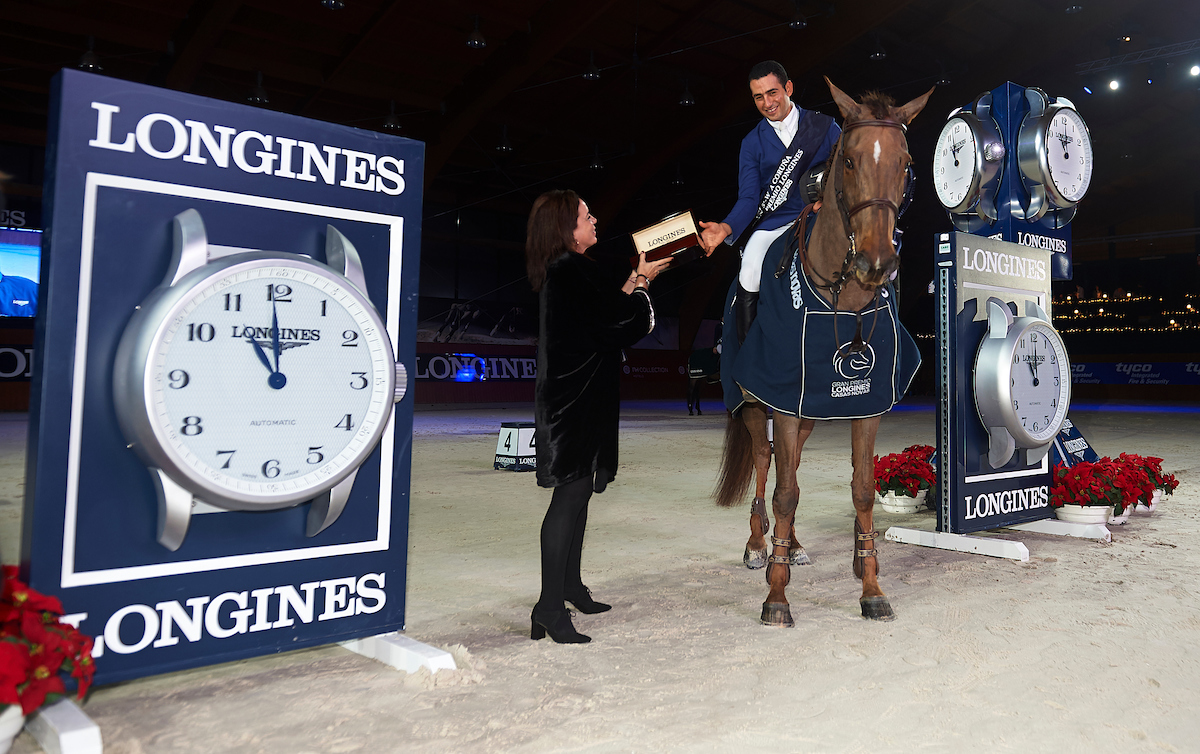 Horse Times Egypt: Equestrian Magazine :News :Sameh El Dahan won Longines Grand Prix in an exciting jump off