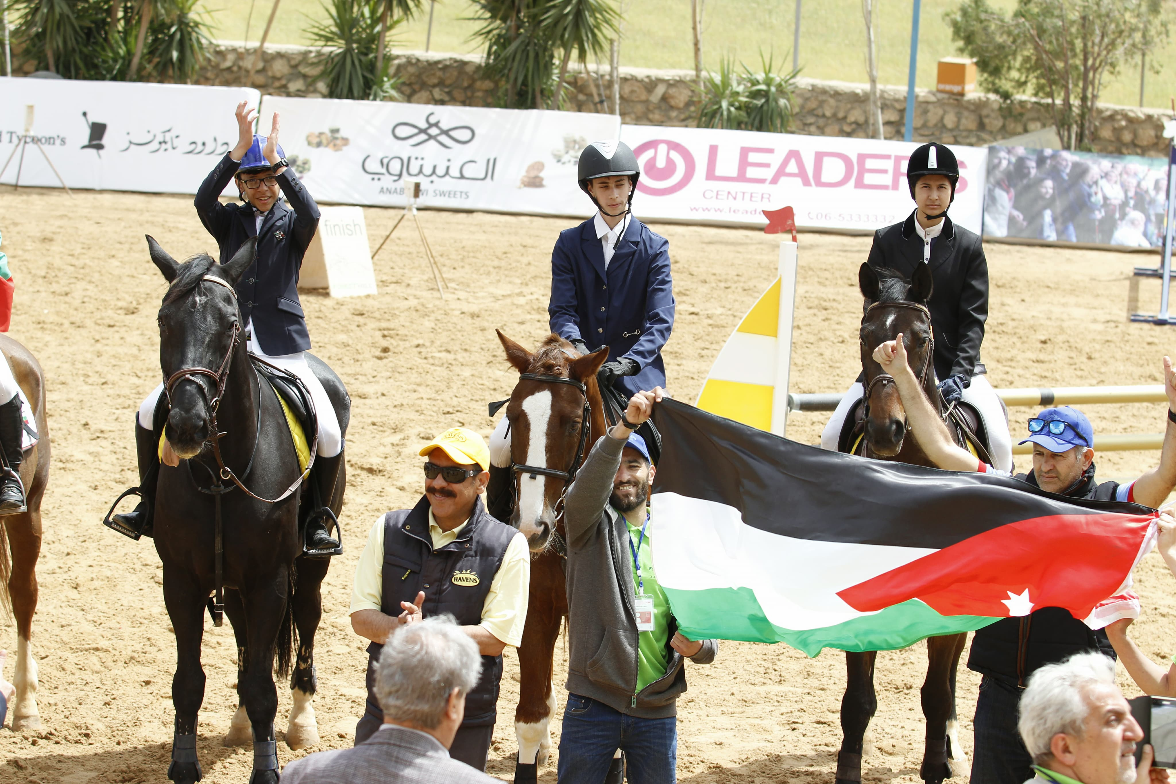 Horse Times Egypt: Equestrian Magazine :News :JORDAN WINS THE GOLD AT THE INTERNATIONAL TEAM COMPETITIONS IN FOREST HILL, JARASH