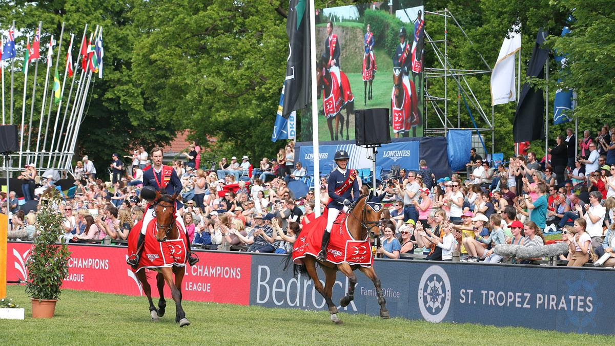 Horse Times Egypt: Equestrian Magazine :News :St Tropez Pirates Ride Wave of Success at GCL Hamburg