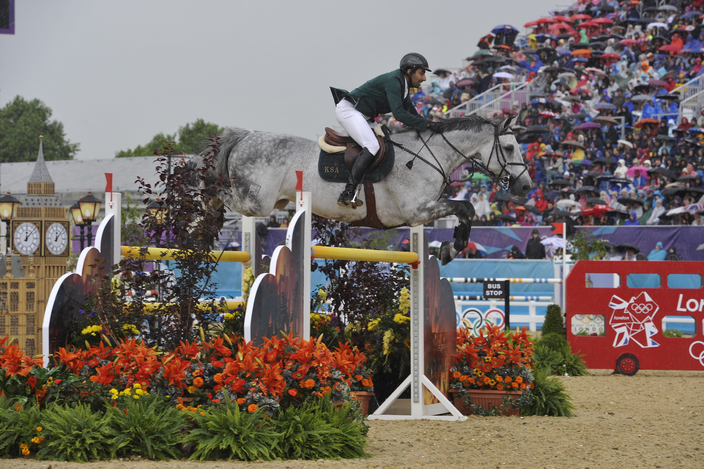 Horse Times Egypt: Equestrian Magazine :News :SAUDI ARABIA LEADS THE TEAM COMPETITION AFTER DAY 2 - LONDON 2012 OLYMPIC SHOW JUMPING