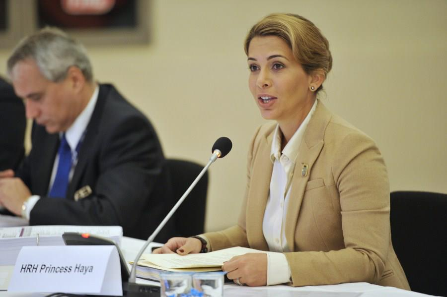 Horse Times Egypt: Equestrian Magazine :News :FEI PRESIDENT HRH PRINCESS HAYA ANNOUED THE 16 MILLION EURO 4-YEAR SPONSORSHIP PACKAGE FOR THE FURUSIYYA FEI NATIONS CUP™
